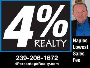 Naples Real Estate For Sale | Realtor Sales Fee 4%